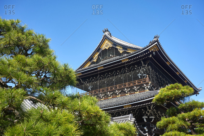 The Higashi Honganji Temple, Kyoto, Japan, Asia