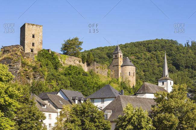 Esch-sur-Sure, Luxembourg, Europe