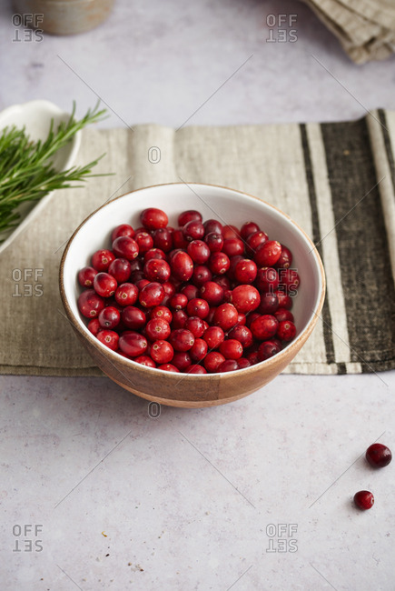 Holiday cranberry dish