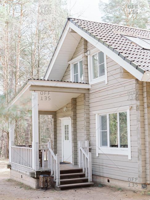 Modern rustic cabin