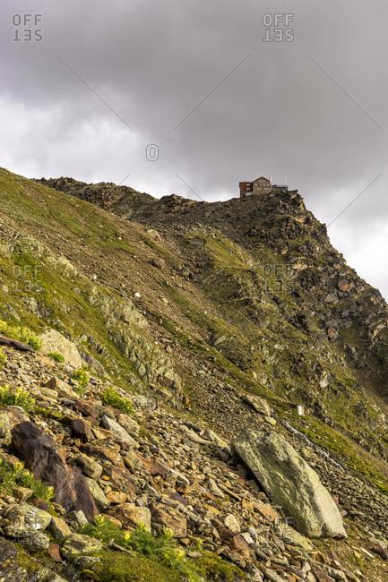 Austria, Tyrol, �tztal, Obergurgl, Ramolhaus, final climb to the Ramolhaus