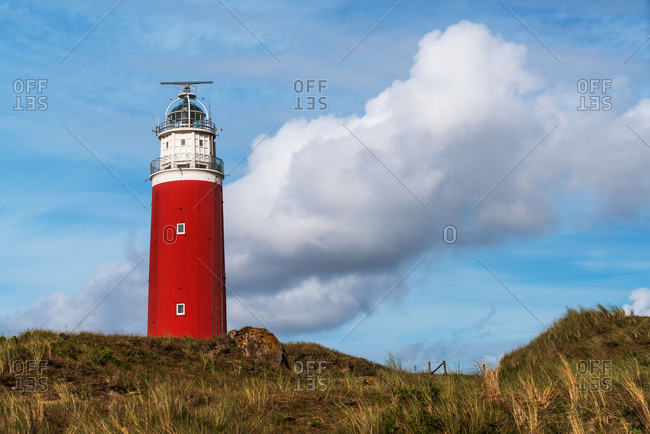 Lighthouse on the Texel island, the Netherlands