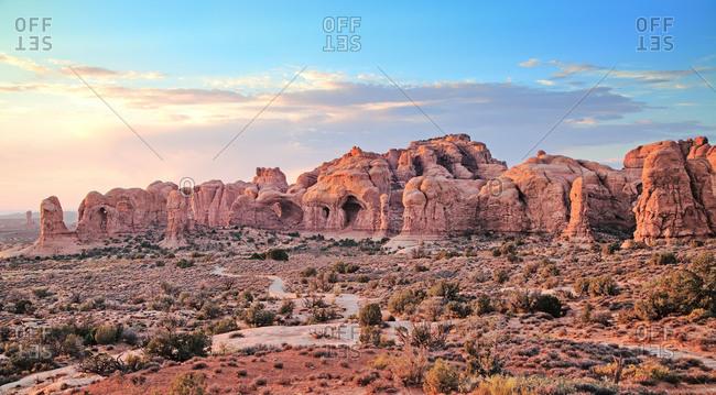 Utah, Arches National Park, Elephant Rocks