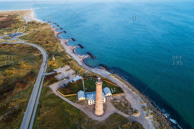 Lighthouse in Skagen, Nordjylland, Denmark