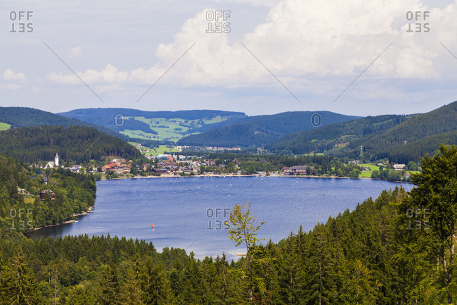 Germany, Baden-W�rttemberg, Black Forest, Black Forest, Titisee-Neustadt, Titisee, Titisee