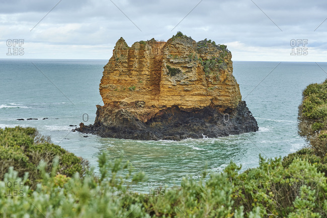 Coastal Landscape, Eagle Rock, Spring, Great Ocean Road, Victoria, Australia, Oceania