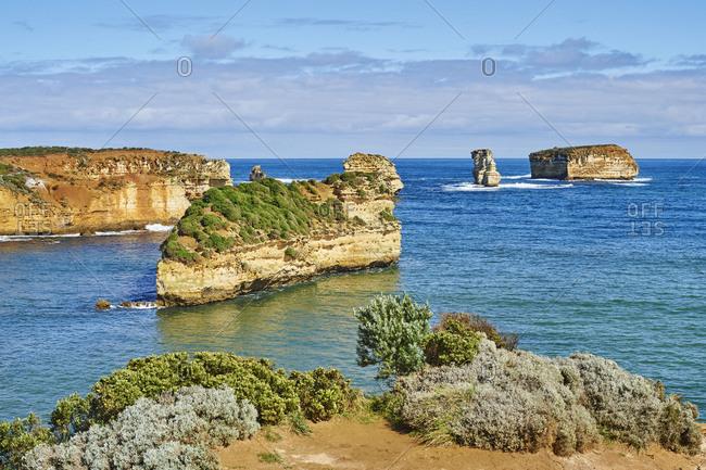 Bay of Islands (Warrnambool), Landscape, Great Ocean Road, Port Campbell National Park, Victoria, Australia, Oceania