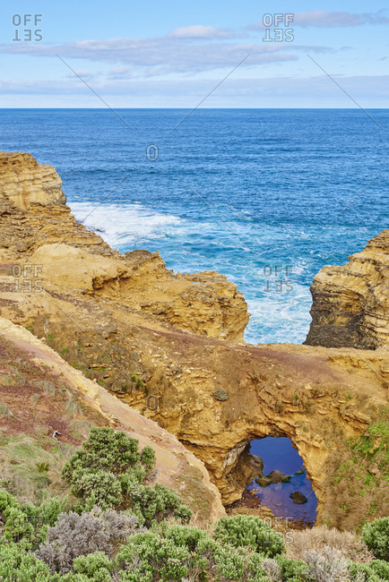 Landscape 'The Grotto', Great Ocean Road, Port Campbell National Park, Victoria, Australia, Oceania