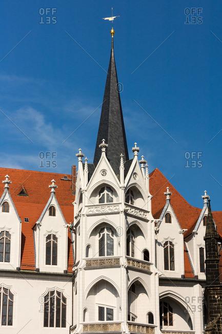Elbe Cycle tour, Saxony, Meissen, Old Town, Albrechtsburg