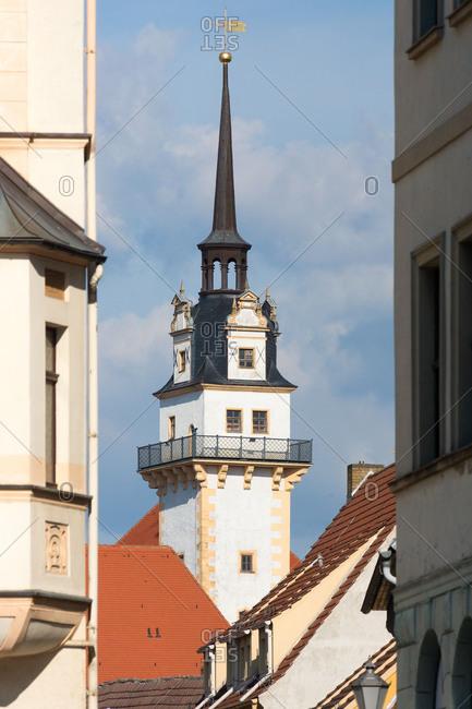 Elbe Cycle tour, Saxony, Torgau, Hartenfels Castle