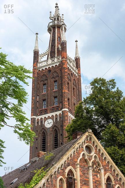 Elbe Cycle tour, Gorlitz, Bible Tower, St. Peter Church