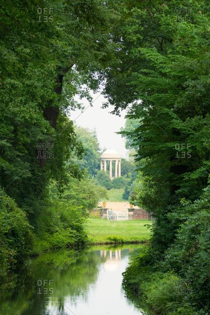 Elbe Cycle tour, Wurlitzer Park, Venus temple