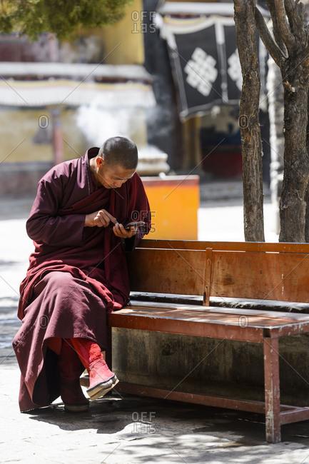 the Shalu monastery in Tibet,