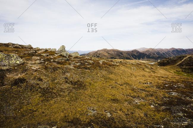 Hiking, Millst�tter Berg Plateau, Obermillstatt, Lake Millstatt, Carinthia, Austria