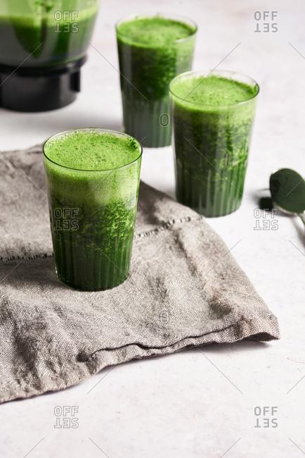 Spirulina smoothies