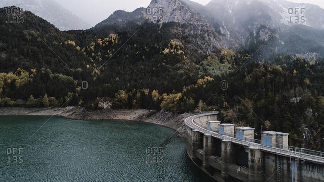 Dam in Benasque, Spain