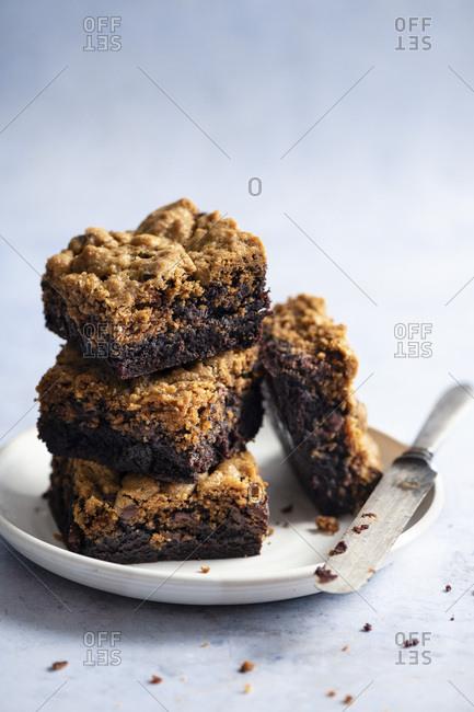 Brownie Cookie Stack
