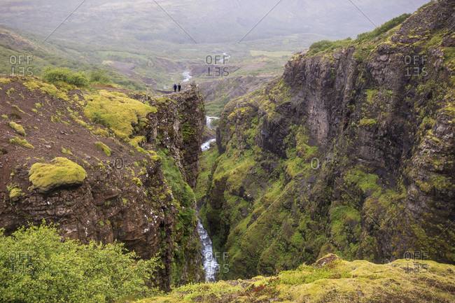 Glymur?Waterfall is the second highest waterfall in Iceland and a popular hike for travelers and tourists. Located just over an hour from Reykjavik, the falls are nearly 200 meters (650?feet)?high and attract a range of bird and animal life.