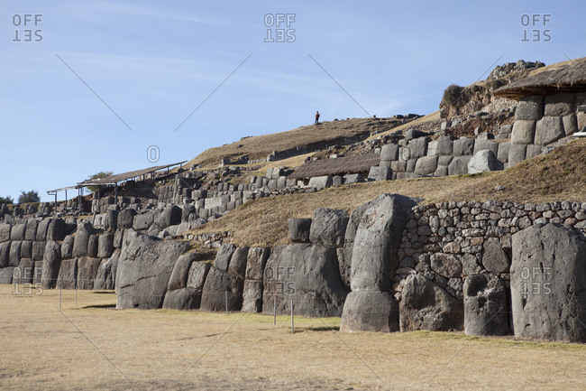 Ancient Inca Ruins in Peru