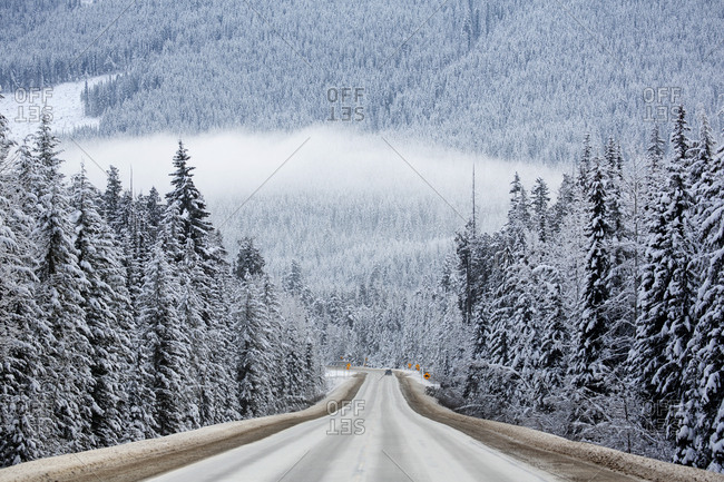 Trans-Canada Highway near Revelstoke, British Columbia