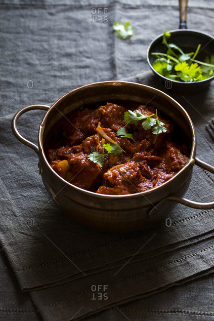 8282966a501 Bowl of Vindaloo Indian curry Bowl of Vindaloo Indian curry