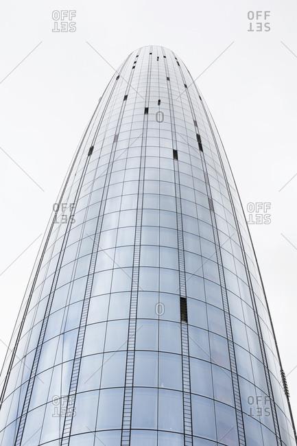 London, England - November 7, 2018: St George: One Blackfriars housing complex