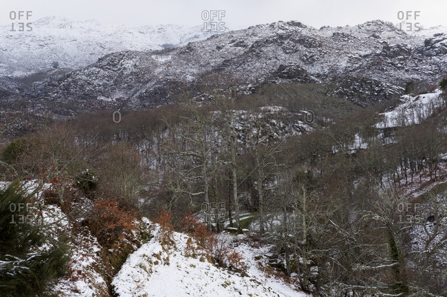 Winter at Geres National Park