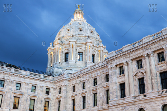 Minnesota State Capitol building - Offset
