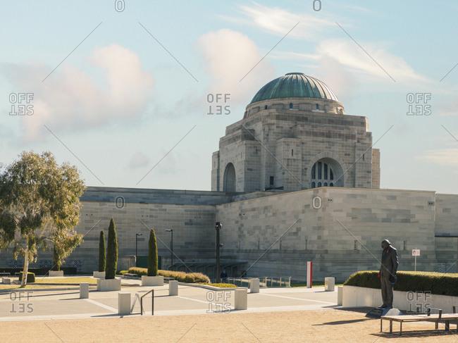 Canberra, Australia - November 28, 2018: Australian War Memorial