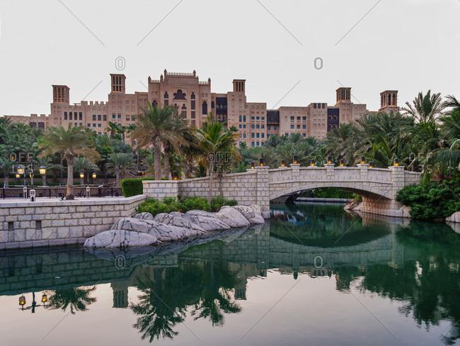 November 20, 2018: Madinat Jumeirah in Dubai, United Arab Emirates.