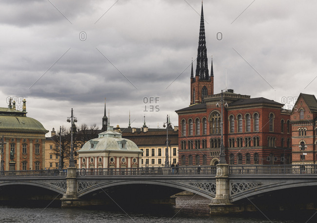 March 18, 2017: Bridge in Stockholm, Sweden