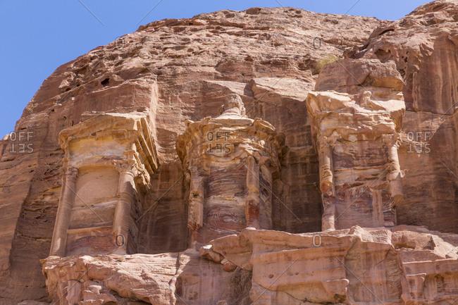 Jordania- Wadi Musa- Petra- Royal tombs- Corinthian tomb