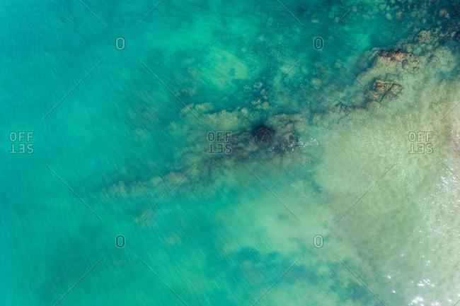Spain- Asturias- Aerial view of water