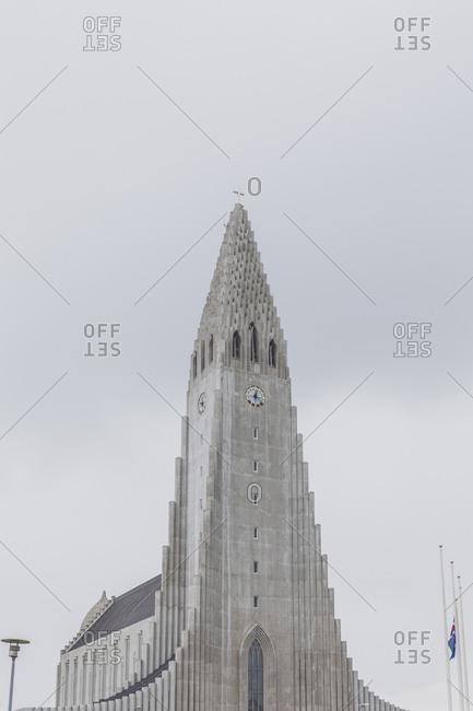 Iceland- Reykjavik- Hallgrimskirkja