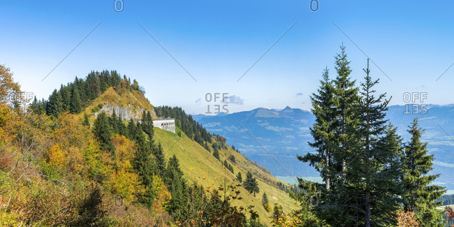 Germany- Bavaria- Rossfeld Scenic Road