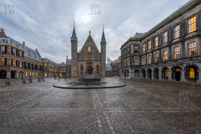 Netherlands- Holland- The Hague- Binnenhof