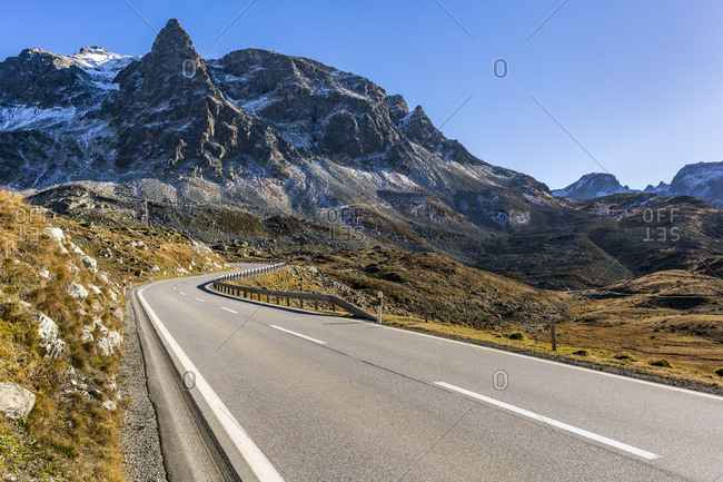 Switzerland- Grisons- Swiss Alps- Parc Ela- Julier pass