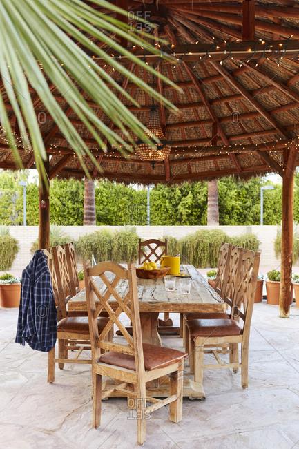 Gazebo at a Palm Springs Home