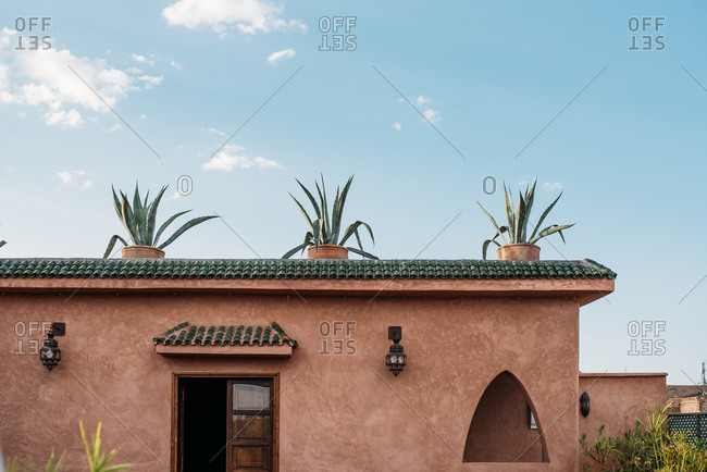 Beautiful moroccan riad architecture design