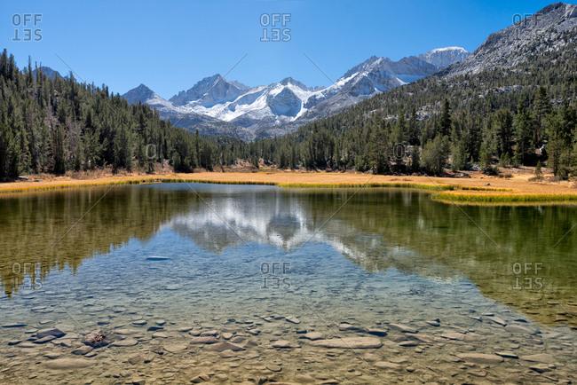 Little Lakes Valley, Sierra Nevada, California