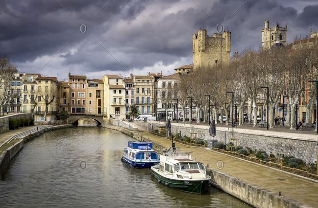 March 5, 2018: Canal de la Robine in winter