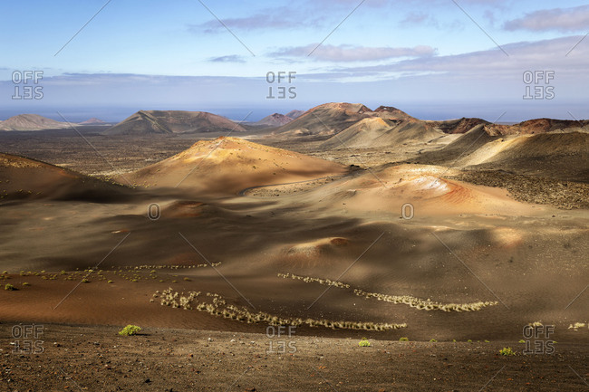Europe, Spain, Canary Islands, Lanzarote, Timanfaya National Park