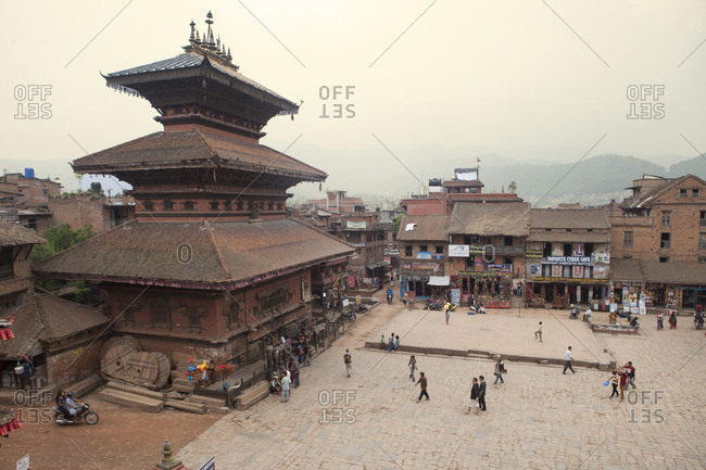 May 4, 2014: Bhairavnath Temple, Taumadhi Tole Square, Bhaktapur, Nepal