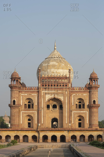 Safdarjung's Tomb in Delhi, India