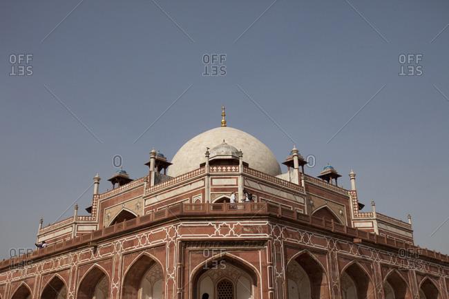 New Delhi, India - April 8, 2017: Humayun's Tomb