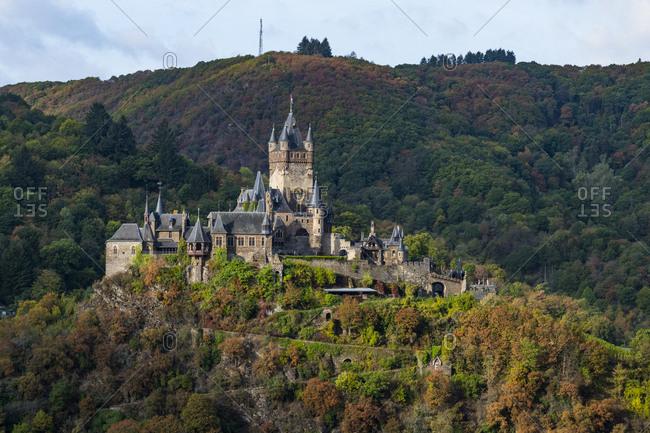 Germany- Rhineland-Palatinate- Cochem- Cochem castle
