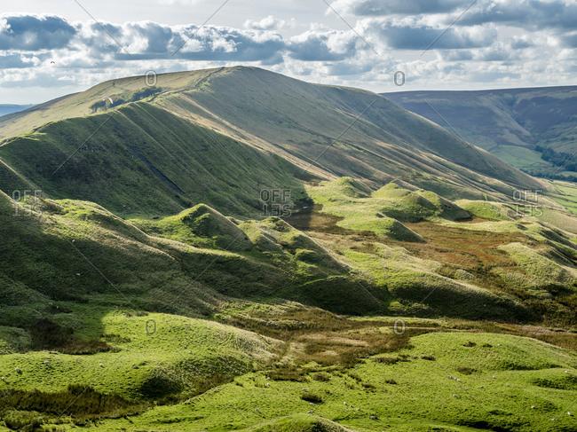 Great Britain- England- Derbyshire- Peak District- Castleton- Mam Tor