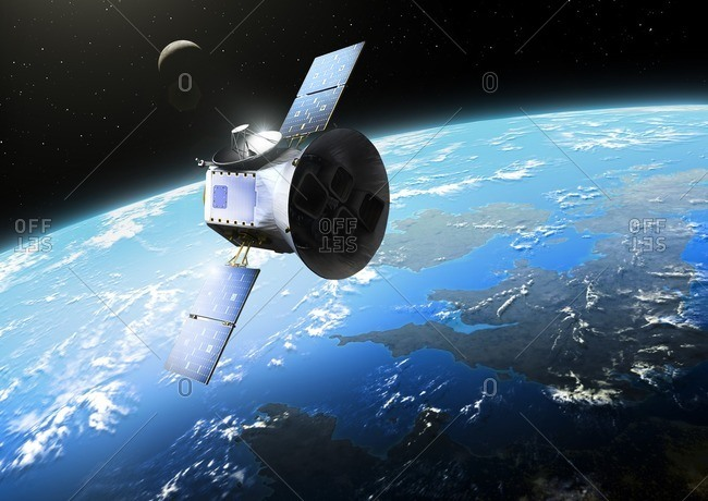 Illustration of the Transiting Exoplanet Survey Satellite (TESS). TESS was launched by NASA in April 2018, the successor to Kepler. It has a two-year mission, during which it will be hunting for extra solar planets transiting their stars. It is expected to find around 20000 planets. At the time of its launch, 3800 exoplanet were known.