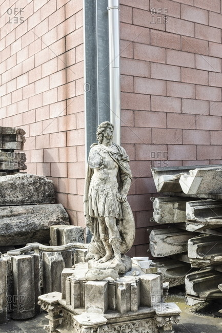 Deteriorated sculpture from cathedral to be restored by local artisan