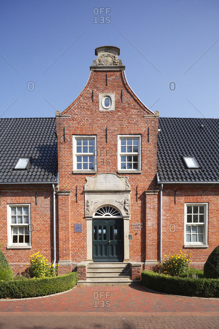 Martin Luther House, Leer, East Frisia, Lower Saxony, Germany, Europe